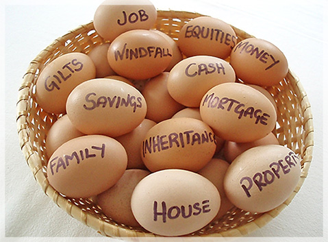 Diversify don't put all your eggs in one basket