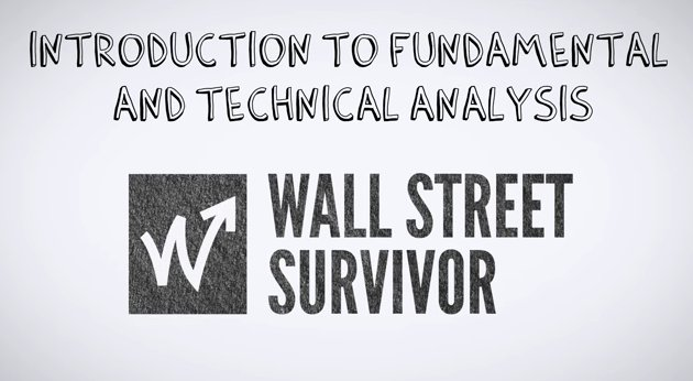 fundamental and technical analysis