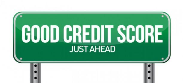 good credit scores just ahead