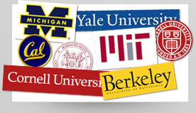 Our clients include top US universities