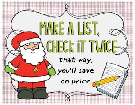 make a list check it twice stock market principles