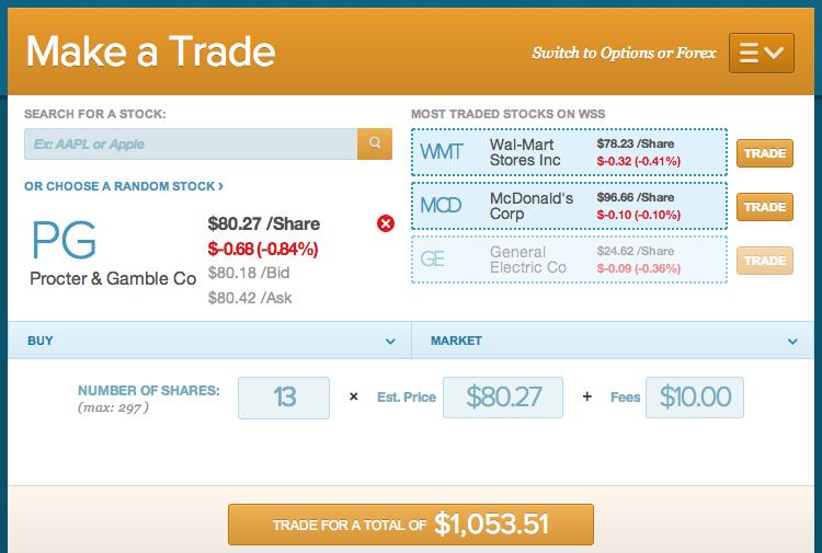 Stock Choice PG