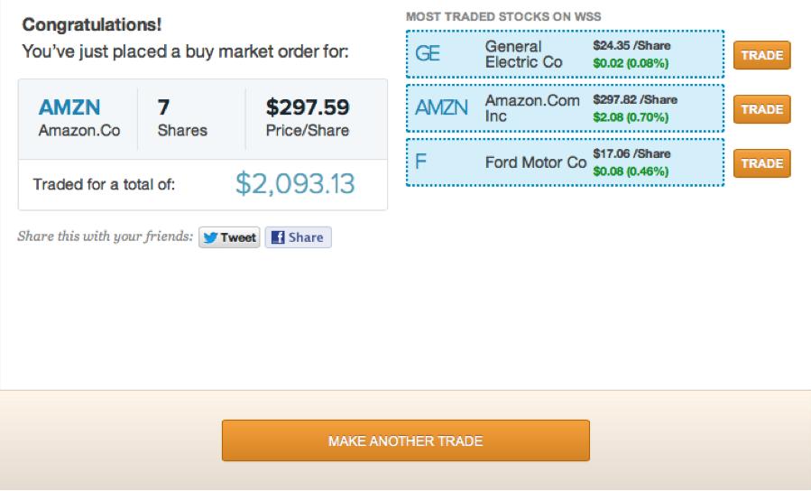 Stock Pick AMZN 2
