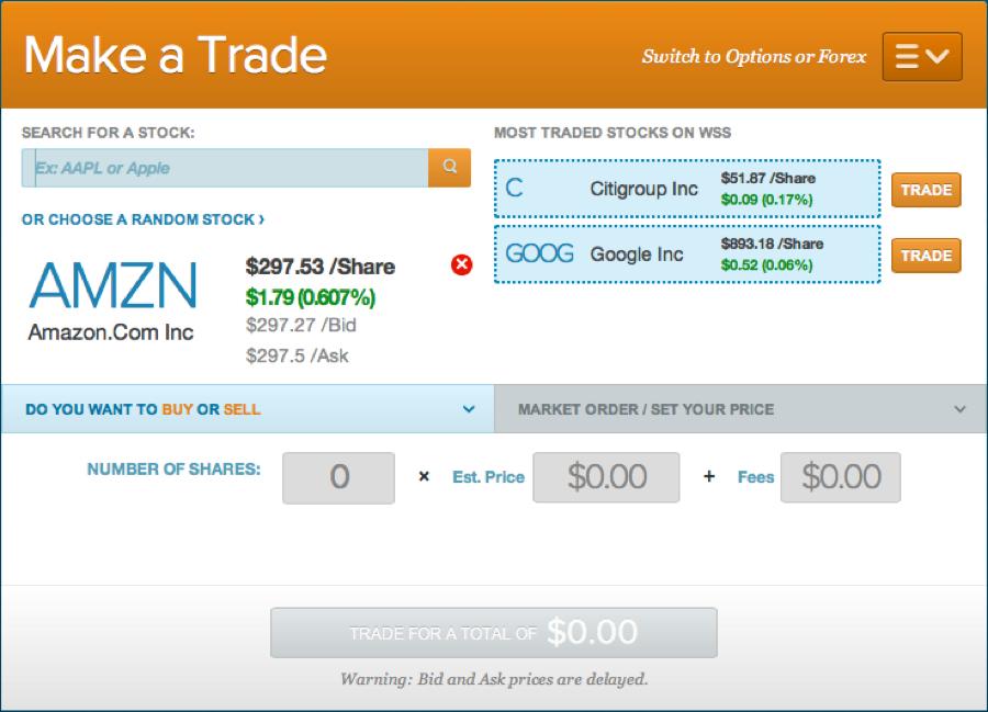 Stock pick AMZN