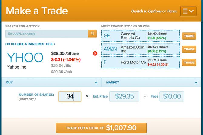 Buy my first stock: Yahoo